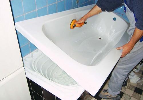 Реставрация ванны акриловым вкладышем самостоятельно