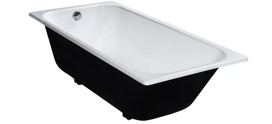 Чугунная ванна белая