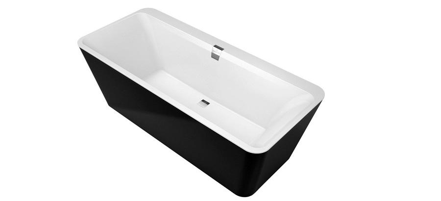 Квариловая ванна белая